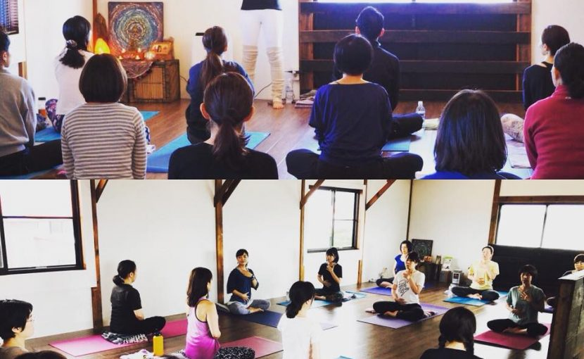 yoga-journeyのクラスの様子yoga-journeyのクラスの様子