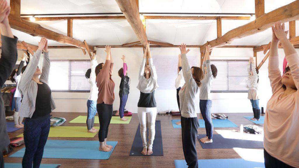 yogajourneyのクラス風景
