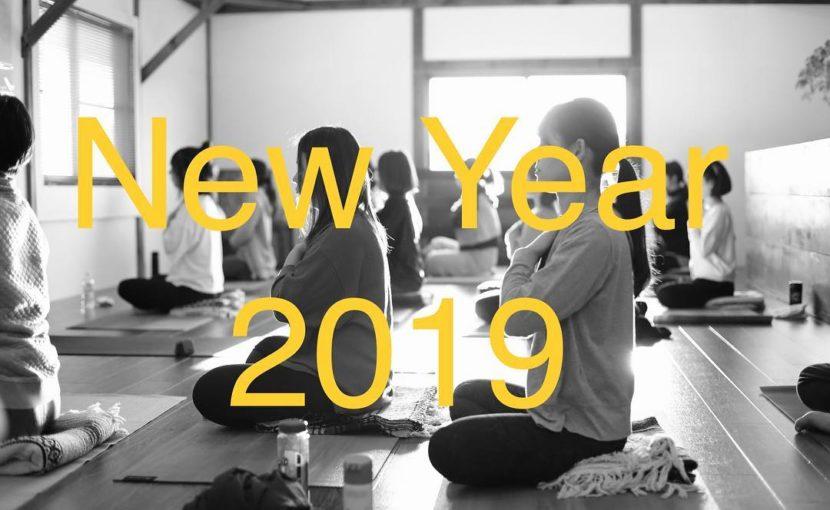 2019年yoga journey新年挨拶