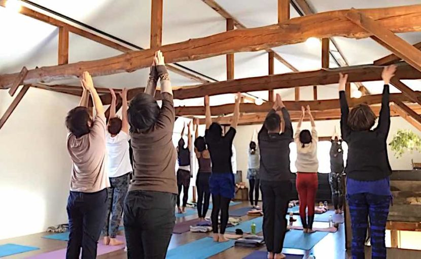 yoga journey太陽礼拝108回写真