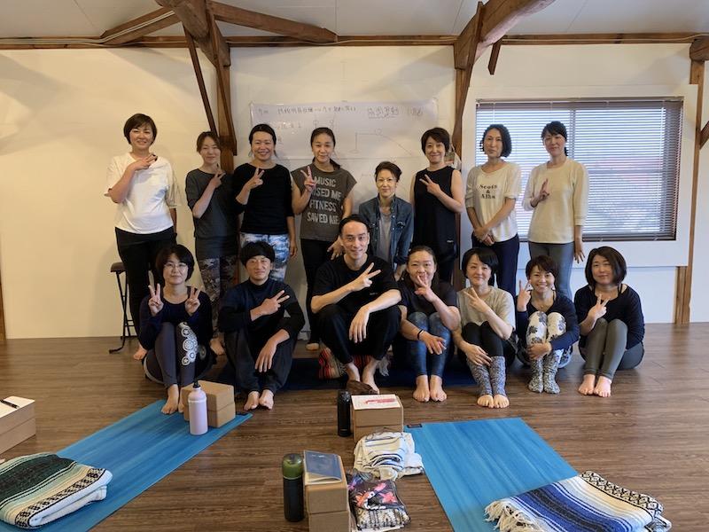 野村賢吾先生ヨガジャーニーワークショップの写真
